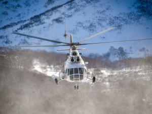 Вертолет разрушился во время посадки на Ямале