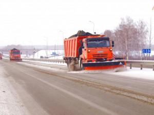 116 единиц снегоуборочной техники занимаются расчисткой трасс М-5 «Урал» и Р-254 «Иртыш»