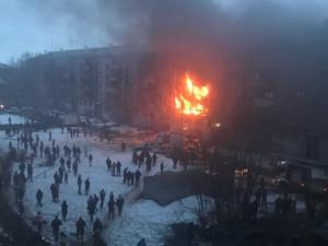 Взрыв снова произошел в жилом доме Магнитогорска