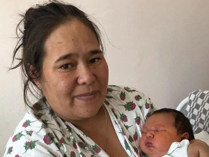 Мальчик весом 5,4 килограмма родился в Челябинске