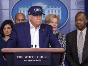 Дональд Трамп ждет результаты теста. Белый дом усилил меры безопасности