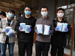 Маски для студентов пришли в Челябинск из Китая