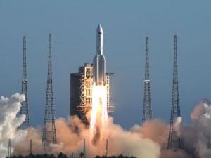 Китай успешно запустил самую мощную ракету