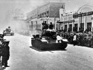 9 мая они ушли на фронт, с которого многие не вернулись. Танковый корпус сверх плана