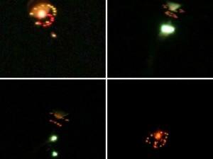 Момент падения НЛО в Бразилии увидели многие