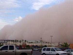 На США обрушились потоки песчаной пыли из Сахары