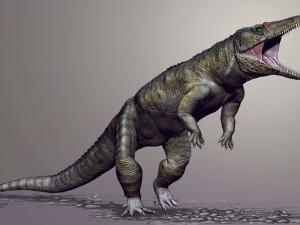 Трехметровые двуногие крокодилы передвигались почти людской походкой