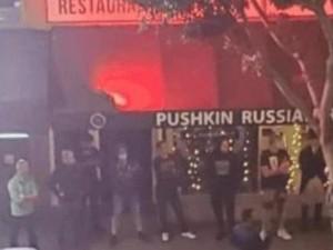 Русские в Калифорнии защитили от погрома ресторан «Пушкин»