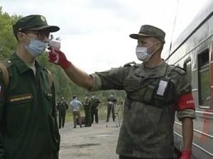 Активизировалась отправка челябинских призывников со сборного пункта в войска