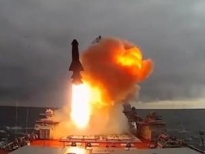 Минобороны России показало силу ракетного удара (видео)