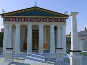 Храмы в Древней Греции строили с пандусами для инвалидов