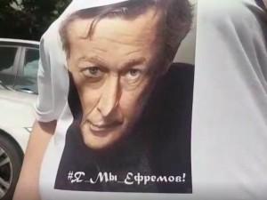 Поклонница Ефремова рассказала СМИ свою версию смертельного ДТП с артистом