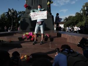 Противники поправок к Конституции выходят на улицы