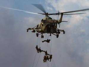 Почему вертолеты низко летали?