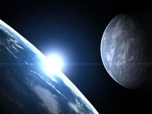 По пути к Марсу китайский Тяньвэнь-1 снял на память Землю и Луну вместе