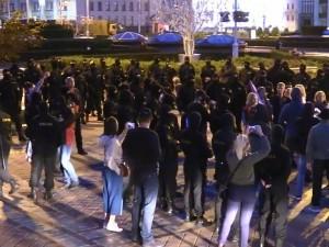 В Минске проходят задержания протестующих