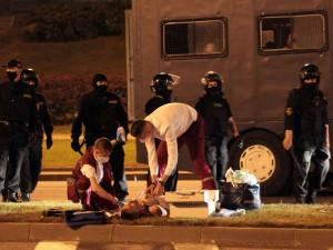 200 человек пострадали в Белоруссии в результате уличных столкновений