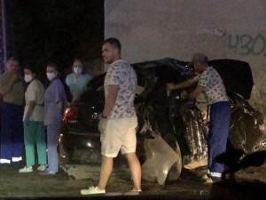 В страшной аварии погибли три человека: машину вел полицейский