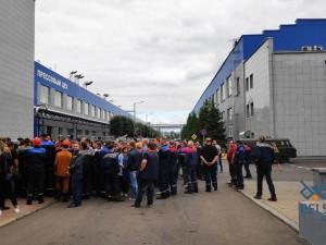 Бастующих предприятий Белоруссии стало больше
