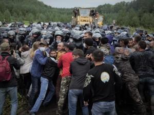 Голодовку объявили протестующие в Куштау
