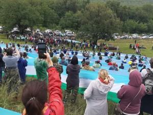 Тысячи жителей Башкирии вышли на защиту шихана Куштау