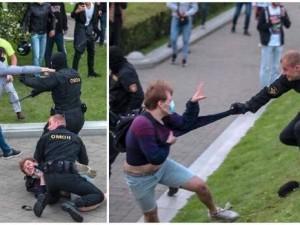Первые раненые появились в ходе столкновений в Минске: власть довела народ
