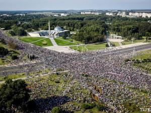 30 августа Минск продолжил массово протестовать против режима Лукашенко