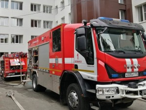 Пожар в горбольнице №1 потушили