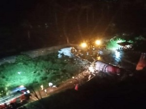 Крушение самолета случилось в Индии: на борту был 191 пассажир
