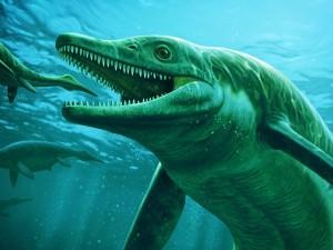 Найденный ихтиозавр умер от собственной жадности