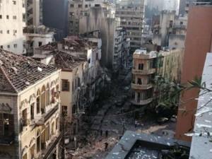 Мощный взрыв прогремел в Бейруте. Прямая трансляция из Ливана