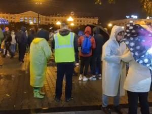 61-я протестная акция прошла в Хабаровске
