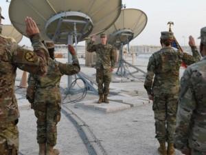 Первый отряд космических войск США приступил к развертыванию