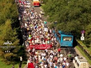 Протестующая Россия: осенью поводов выйти на улицы стало больше