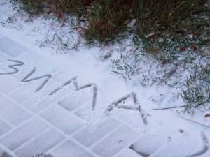 Морозы и снег ударят по России