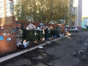 Мусорный коллапс в Челябинске повторяется на фоне эпидемии коронавируса?