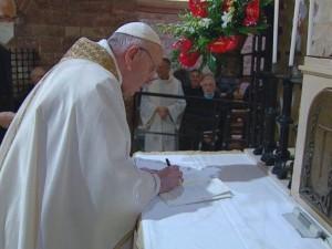 Папа Франциск отверг доктрину Римско-католической церкви