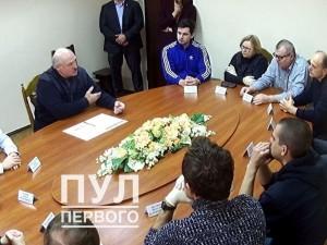 Лукашенко провел переговоры с лидерами оппозиции в СИЗО КГБ