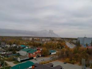 Эвакуируют 10 поселков в Рязанской области, где произошел пожар на складе боеприпасов