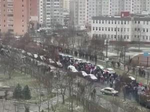 Марш соседей проходит в Беларуси