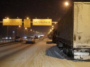 В конце декабря въезд в Челябинск ограничат для большегрузов