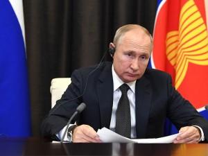 Шутка Путина касалась рассадки участников совещания в Минобороны