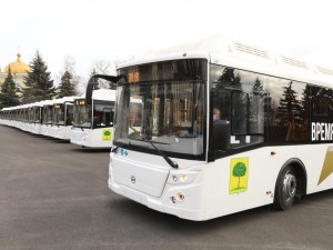 Липецк получил новые газомоторные автобусы