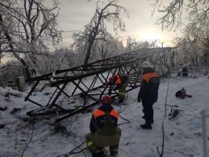 60 тысяч жителей Владивостока оказались без электричества в результате удара циклона