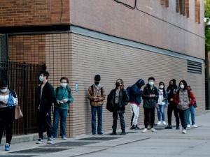 Школы Нью-Йорка могут снова закрыться