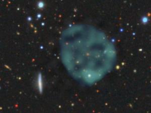 Таинственные круглые объекты в космосе астрономы обнаружили впервые