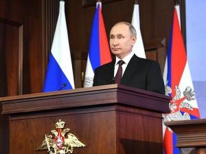 Путин восстановил долю современных образцов вооружения в армии России до советских параметров