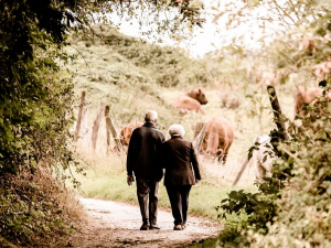 Челябинским пенсионерам подарили виртуальное свадебное путешествие в Париж