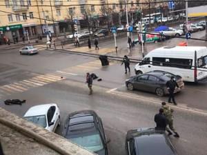 Двух боевиков убили в Грозном. Но есть жертвы и среди полицейских