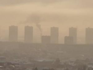 Опять в Челябинске висит смог